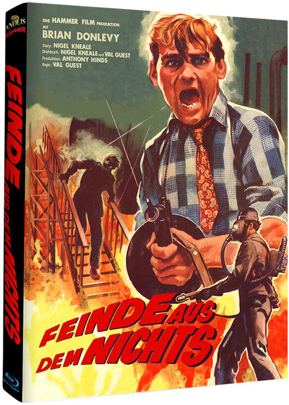 Feinde aus dem Nichts (1957) (Hammer Edition, Cover B, s/w, Limited Edition, Mediabook)