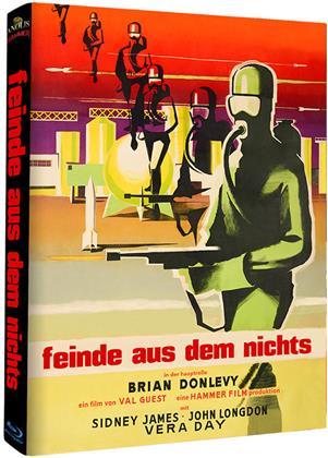 feinde aus dem nichts (1957) (Hammer Edition, Cover C, s/w, Limited Edition, Mediabook)
