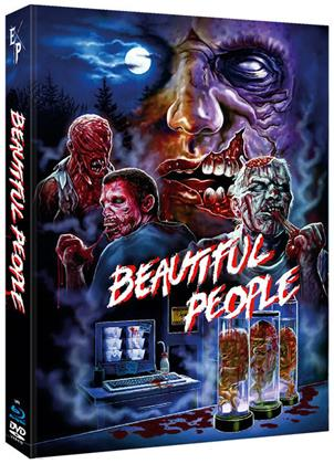 Beautiful People (2014) (Cover B, Limited Edition, Mediabook, Uncut, Blu-ray + DVD)
