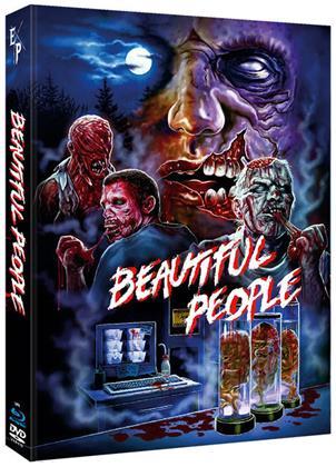 Beautiful People (2014) (Cover B, Edizione Limitata, Mediabook, Uncut, Blu-ray + DVD)