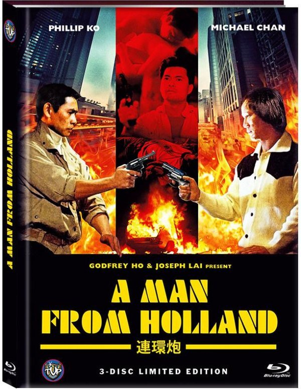 A Man from Holland (1985) (Cover B, Limited Edition, Mediabook, Blu-ray + 2 DVDs)