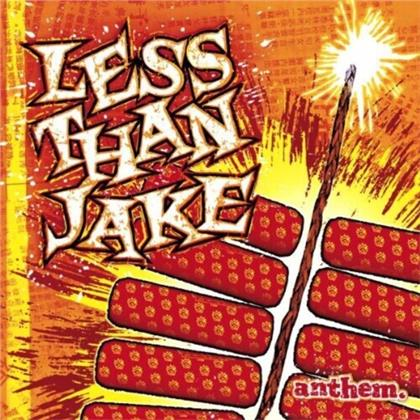 Less Than Jake - Anthem (2020 Reissue, Smart Punk Records, Limited, Red/Yellow Vinyl, LP)