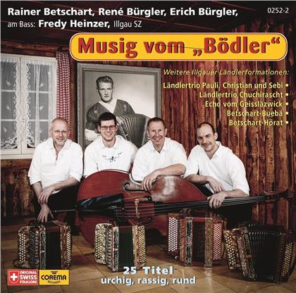 Rainer Betschart, René Bürgler & Erich Bürgler - Musig vom ''Bödler''