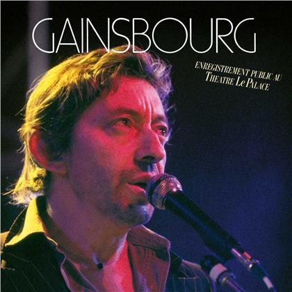 Serge Gainsbourg - Enregistrement Public Au Theatre Le Palace (2 CDs)