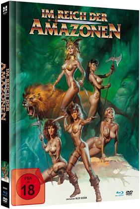 Im Reich der Amazonen (1986) (Integralfassung, Edizione Limitata, Mediabook, Uncut, Blu-ray + DVD)