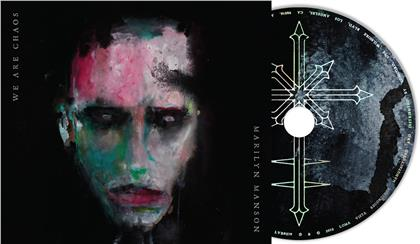 Marilyn Manson - We Are Chaos (Exklusiv CeDe.ch, 2 Bonustracks, Digipack, + Sticker, Limited Edition)