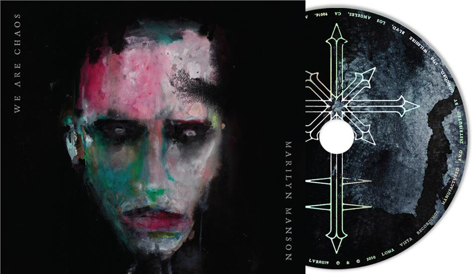 Marilyn Manson - We Are Chaos (Exklusiv CeDe.ch, 2 Bonustracks, Digipack, Limited Edition)