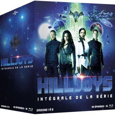 Killjoys - Intégrale de la série - Saisons 1-5 (15 Blu-ray 3D (+2D))