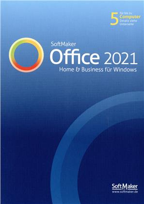 Softmaker Office Home & Business 2021 (für bis zu 5 PCs)