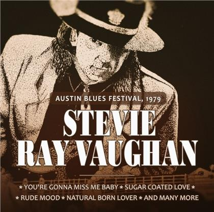 Stevie Ray Vaughan - Austin Blues Festival 1979