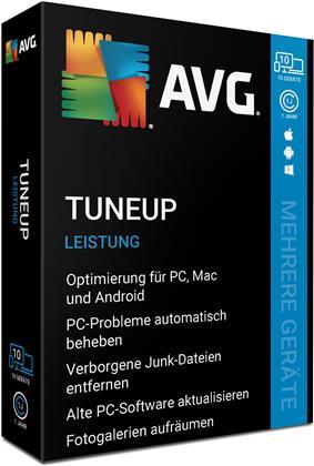 AVG TuneUp 2020 - 10 Geräte I 1 Jahr (CIAB)