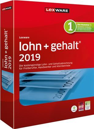 Lexware lohn+gehalt 2019 Jahresversion (365 Tage)