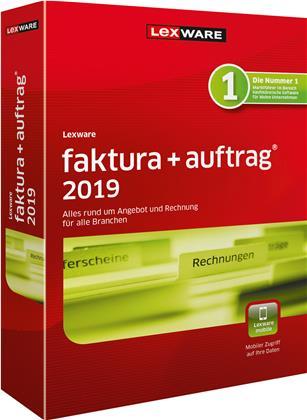 Lexware faktura+auftrag 2019 Jahresversion (365-Tage)