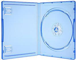 PS4 - Original Leerhülle / Ersatzhülle Blau (Amaray)