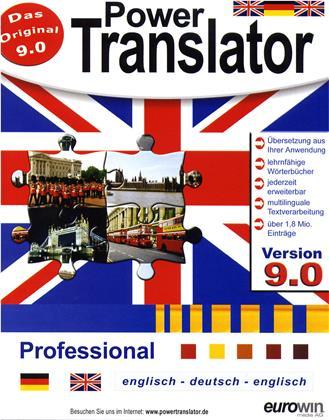 PowerTranslator Professional 9.0-engl.-dt.-engl.