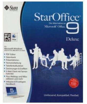 StarOffice 9 Deluxe Minibox