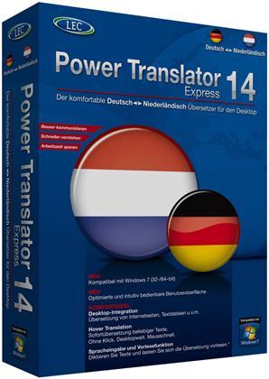 Power Translator 14 Express - Deutsch-Niederländisch