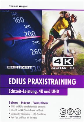 EDIUS Praxistraining - Echtzeit-Leistung, 4K und UHD – Videolernkurs inkl. PDF-Praxisbücher (Win, Mac, Tablet)