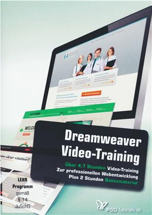 Dreamweaver-Video-Training (Win+Mac+Tablet)
