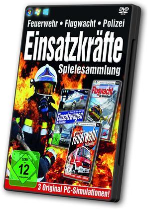 Einsatzkräfte Spielesammlung - Feuerwehr, Flugwacht. Polizei