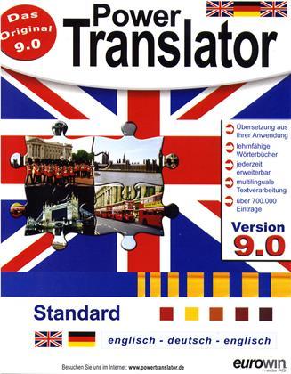 PowerTranslator Standard 9.0 - engl.-dt.-engl.