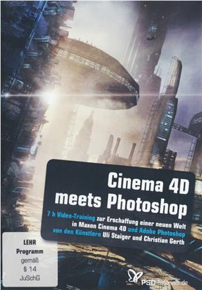 Cinema 4D meets Photoshop (Windows + Mac)