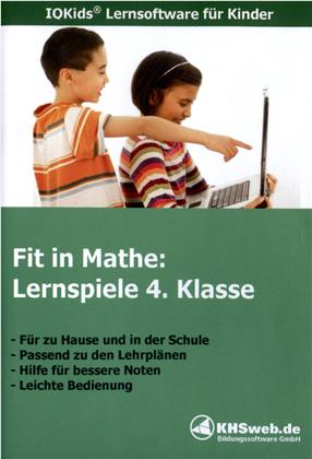 Fit in Mathe - Lernspiele 4. Klasse