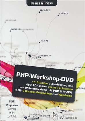 PHP-Workshop-DVD - Basics & Tricks (PC+Mac+Tablet)