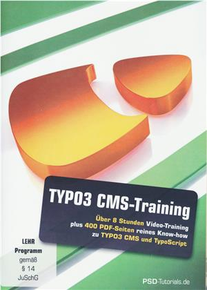 TYPO3 CMS-Training (PC+Mac+Tablet)