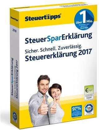 SteuerSparErklärung 2018 (für Steuerjahr 2017)