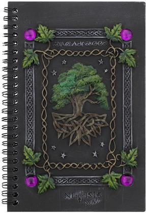 Tree of Life - Journal Dream Book with Resin Cover
