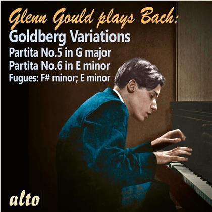 Johann Sebastian Bach (1685-1750) & Glenn Gould (1932-1982) - Goldberg Variations - Partita No.5 & 6 (Remastered)