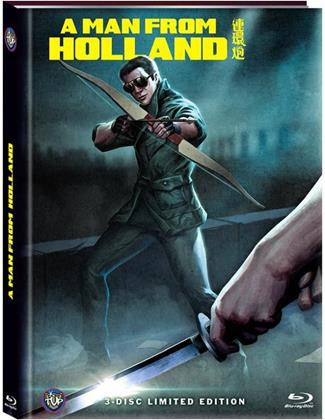 A Man from Holland (1985) (Cover C, Limited Edition, Mediabook, Blu-ray + 2 DVDs)
