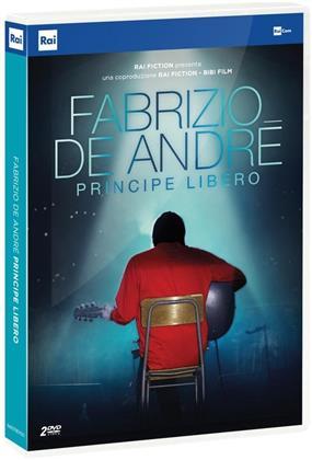 Fabrizio de André - Principe Libero (2018) (Neuauflage, 2 DVDs)