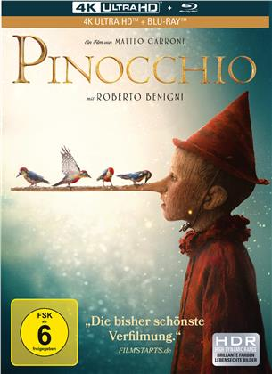 Pinocchio (2019) (Limited Edition, Mediabook, 4K Ultra HD + Blu-ray)
