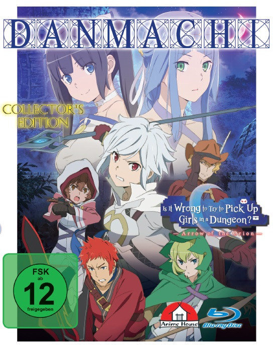 Danmachi: Arrow of Orion - The Movie (2019) (Collector's Edition)