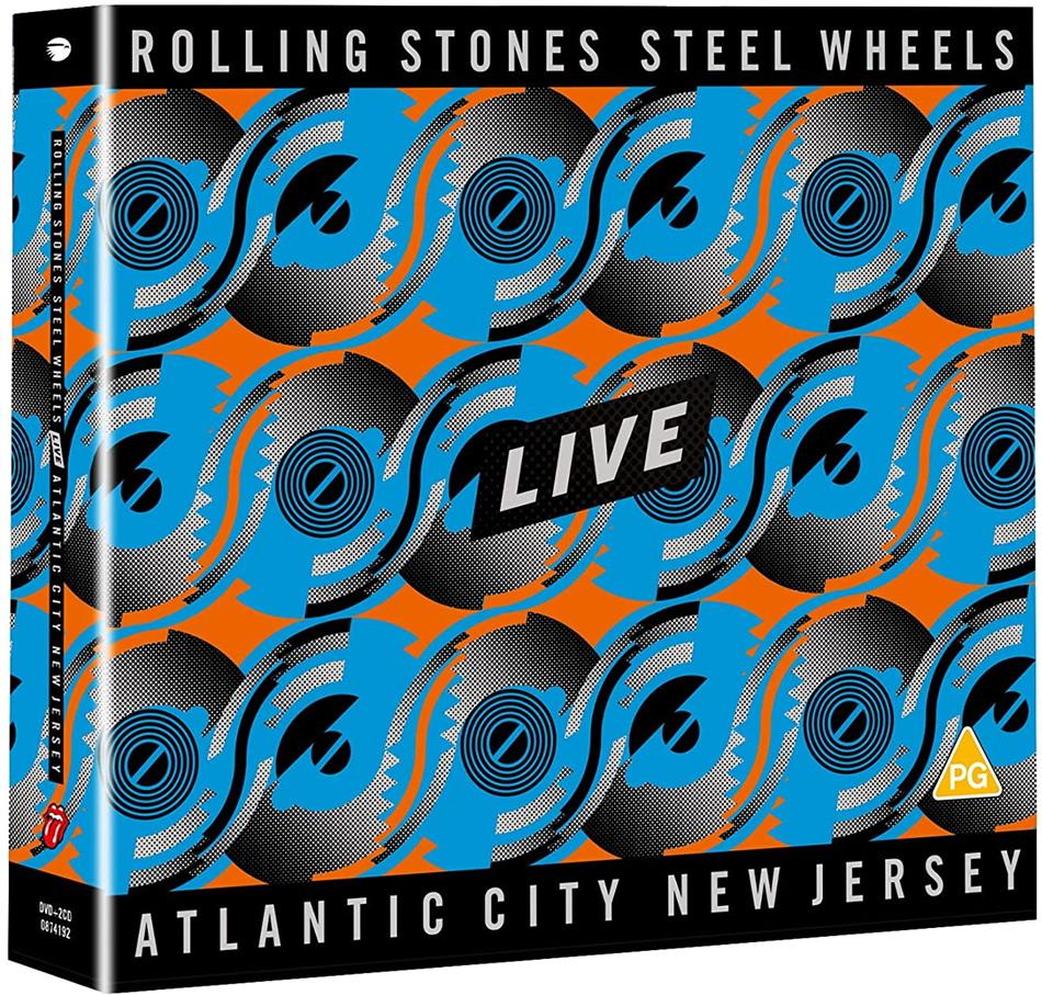 The Rolling Stones - Steel Wheels Live (Atlantic City 1989) (2 CDs + DVD)