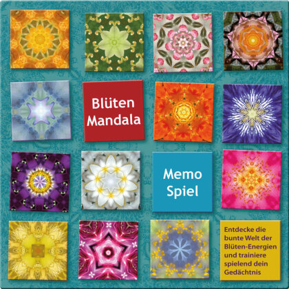 Blüten Mandala Memo Spiel
