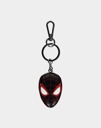 Spider-Man - Miles Morales - 3D Metal Keychain