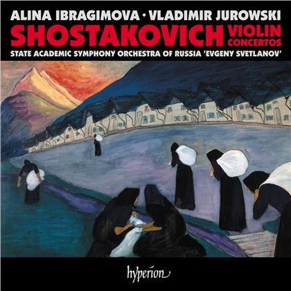 "Dimitri Schostakowitsch (1906-1975), Vladimir Jurowski, Alina Ibragimova & State Academic Symphony Orchestra of Russia ""Evgeny Svetlanov"" - Violin Concertos No. 1 + 2"