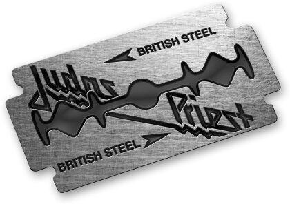Judas Priest - Bristish Steel Pin Badge