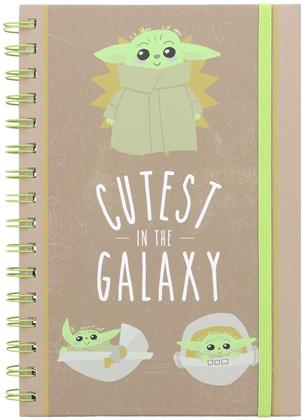 Star Wars The Mandalorian: Cutest in the Galaxy - A5 Wiro Notebook