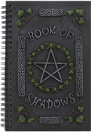 Ivy Book of Shadows - Journal with Pentagram Resin Cover
