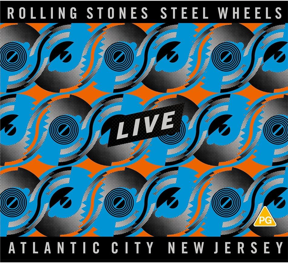 The Rolling Stones - Steel Wheels Live (Atlantic City 1989) (2 CDs + Blu-ray)
