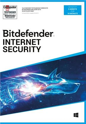 Bitdefender Internet Security 2021 5 Gerät / 18 Monate (Code in a Box)