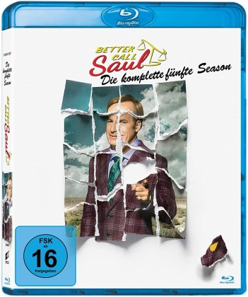 Better Call Saul - Staffel 5 (3 Blu-rays)