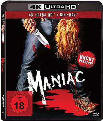 Maniac (1980) (Uncut, 4K Ultra HD + Blu-ray)