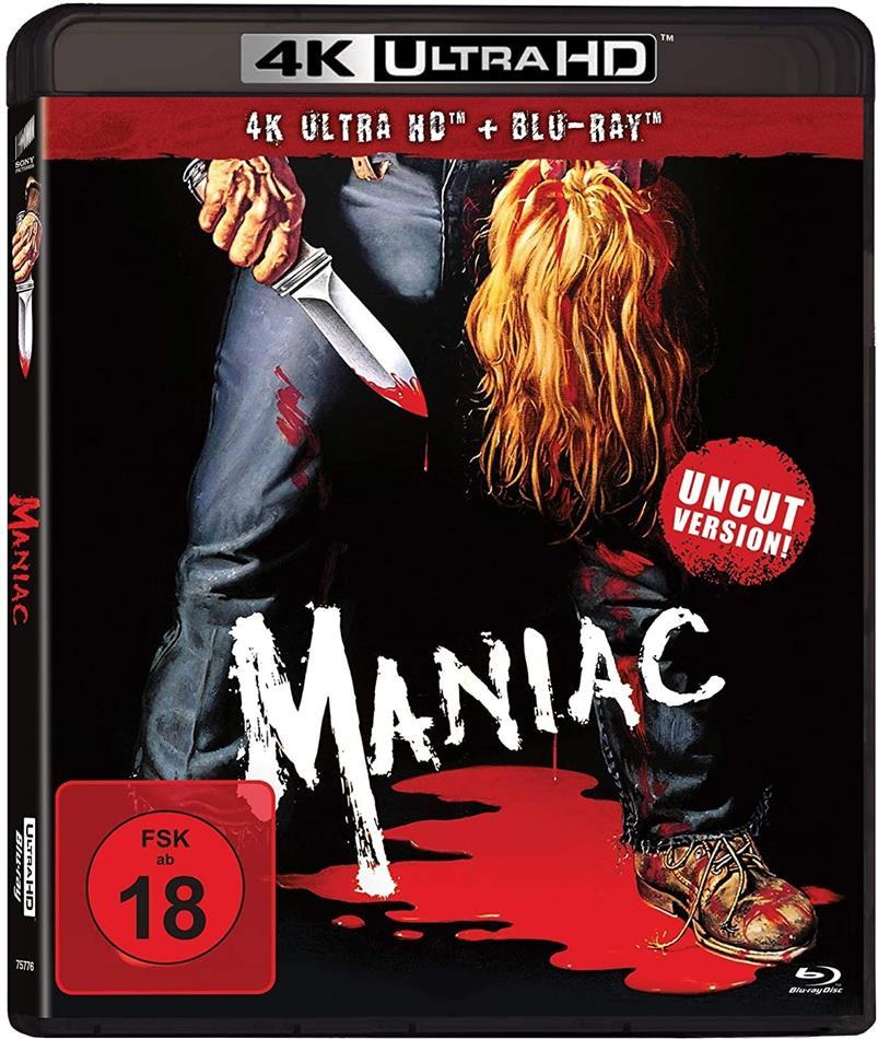 Maniac (1980) (Uncut, 4K Ultra HD + Blu-ray)