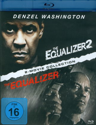 The Equalizer / The Equalizer 2 - 2-Movie Collection (2 Blu-rays)