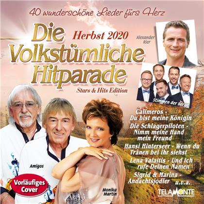 Die volkstümliche Hitparade: Herbst 2020 (2 CDs)